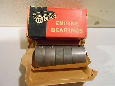 NOS Late 60s Simca Aronde w/ Rush Engine Connecting Rod Bearings STD -- #1JC