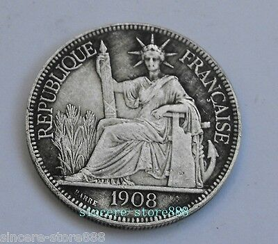 Feng Shui Sitting Man Coins French pharaoh Sign Enhance Health Protection