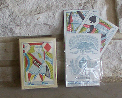 1864 Poker Deck, Civil War, Playing Cards, New