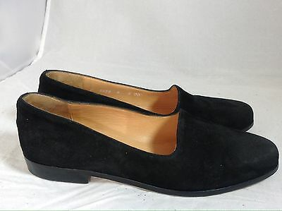 45185483d92 COLE HAAN Women s Black Suede Loafers Flats Shoes 6 B Pre-owned Made ...