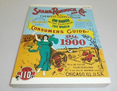 Sears, Roebuck and Co. Fall 1900 Consumer Guide Catalogue #110 ~ 1970 Copyright