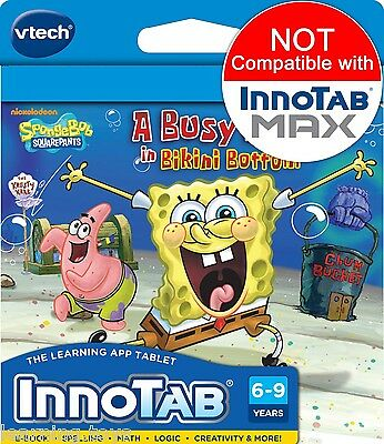 InnoTAB 2 2S 3 3S Game - SpongeBob Square Pants Educational Software