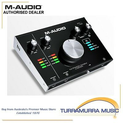 M-Track 2x2M 2-channel USB Interface with MIDI In/Out