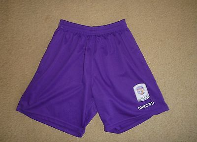 PERTH GLORY Small Womens W League Soccer Shorts Football Shorts