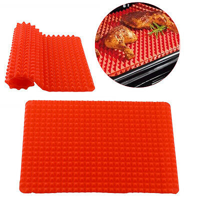Pyramid Pan Non Stick Silicone Cooking Mat Oven Baking Kitchen Tool