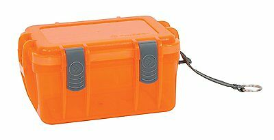 Outdoor Products Watertight Box, Small, Shocking Orange