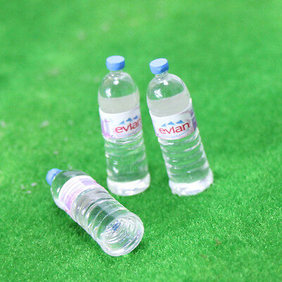 3 Bottle Water Sets Drinking Miniature Dollhouse 1:12 Toys Accessory Lovely Gift