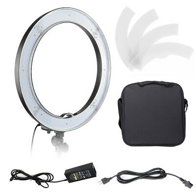 "18"" SMD LED 55W Dimmable Photography Ring Light Continuous Photo Video Lighting"