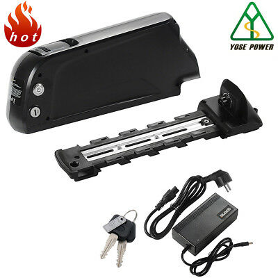 36v17ah electric bicycle lithium battery+Charger with cellphone charging USB