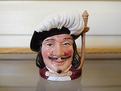 """Vintage Royal Doulton """"Porthos"""" 3 Musketeers Toby Jug England Mint Condition"""