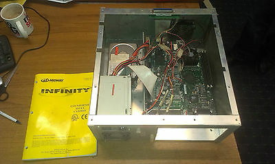Complete working MULTI GAME PC from  MIDWAY INFINITY TOUCHSCREEN MACHINE &manual