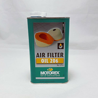 Motorex Air Filter Oil  206 Luftfilteroel, Schaumstoff-Filter 1 Liter