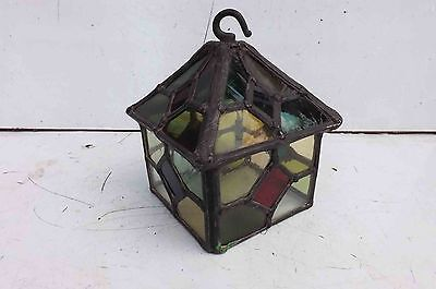 stained glass hall lamp