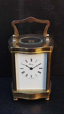 Henley carriage clock in good working order & condition.