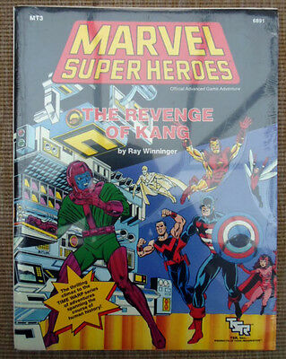 TSR Marvel Super Heroes Role Playing Game RPG Revenge Of Kang Adventure Module
