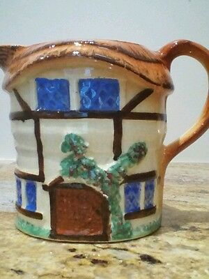 Vintage Cottage Ware Cream Pouring Jug In Beautiful Country Cottage Design