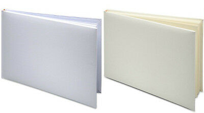 Plain Blank DIY Wedding Guest Book Presentation Box Anniversay Christening