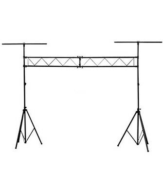 12.5ft DJ Stage Lighting Truss Stand with T Bar Trussing System Projector Mount