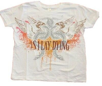 100/% COTTON AS I LAY DYING /'GRIFFIN/' XXL OFFICIAL BAND MERCHANDISE ROCK T SHIRT