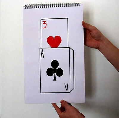 Cardiographic Exclusive Rise Card Prediction Stage Magic Card Magic Illusions