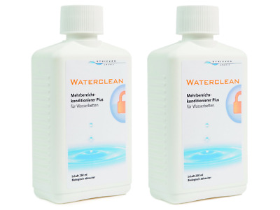 Wasserbett Konditionierer Waterclean Conditioner von Stricker Chemie (2x 250ml)
