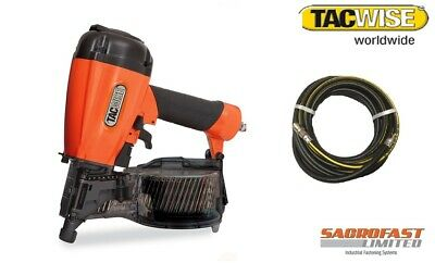 Tacwise Fcn57V Air Coil Nailer With 10M Air Hose