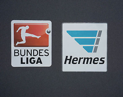 Bundesliga Patch 2016/2017 inkl. Hermes Patch Lextra Logo Badge