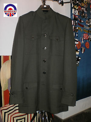 Beatles Style Suit Chaqueta Mods Carnaby Talla 38 Size