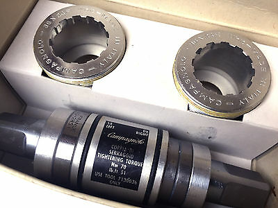 CAMPAGNOLO Bottom Bracket RECORD CART IT THREAD 36x24 NOS NEW O.R. Group