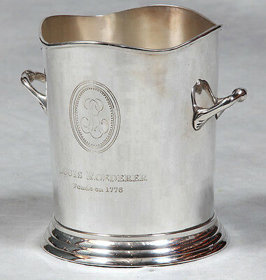 Large Nickel Plated Wine Cooler Champagne Bucket