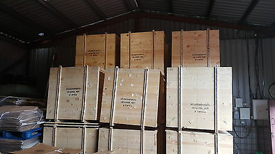 Large Wooden Boxes/crates Pallet For Packing Export Shipping Freight