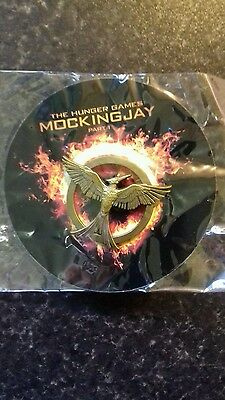 The Hunger Games. Mockingjay. Bronzed metal Pin Badge NEW