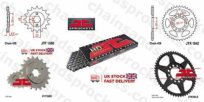 JT- Heavy Duty Chain Kit 19t 52t 428HDR 128 fits Yamaha XT250 T