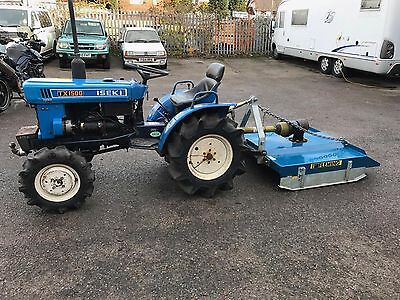 Iseki Compact Tractor TX1500 4x4 with Fleming topper