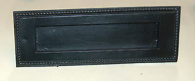 Gothic black large letterbox