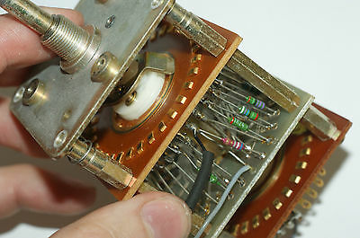 Stereo Rotary Switch 32 positions for DIY Tube Preamplifier
