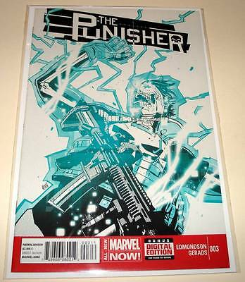 The PUNISHER # 3 Marvel Comic  May 2014  VFN/NM