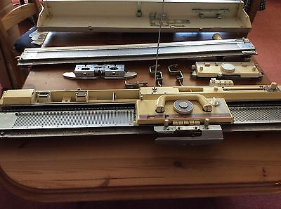 Brother KH890 Punchcard Knitting Machine With Ribber Included REDUCED TO CLEAR