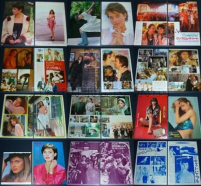 (24) Lot NASTASSJA KINSKI 1980s Vintage JPN/JAPAN PICTURE CLIPPINGS #6N1