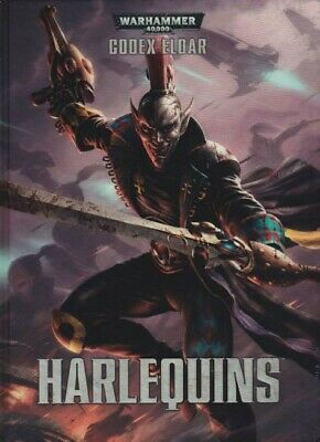 Harlequins Codex Eldar (Deutsch) Games Workshop Warhammer 40.000 40k Hardcover