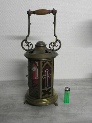 Antique lamp Lantern Chandelier OLD CHURCH GREEK CATHOLIC CATHEDRAL CANDLE Light