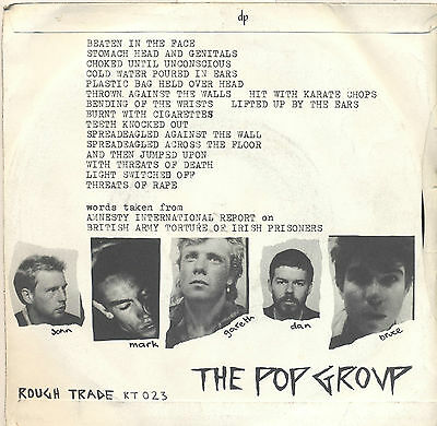 Pop Group We're all prostitutes