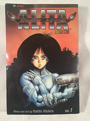 Battle Angel Alita Vol.1 Rusty Angel - Paperback - USED - Worn Edges, Good Cond.