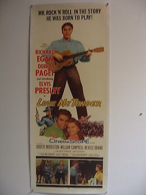 LOVE ME TENDER - Elvis - original film / movie poster