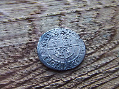 ELIZABETH 1st  1558- 1603.  SILVER THREEPENCE. 1566.  NICE CONDITION.