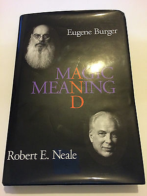 Magic and Meaning Eugene Burger Robert Neale SIGNED First Edition OOP