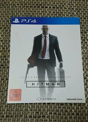 HITMAN Ps4 Full Game + Requiem Blood Money Pack (2017 Version, Download, New)