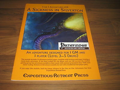 1 on 1 Adventure #14 A Sickness in Silverton 2010 Expeditious Retreat Press d20