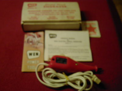 Vintage WEN Electric Pencil Engraver Tungsten Carbide in Original box