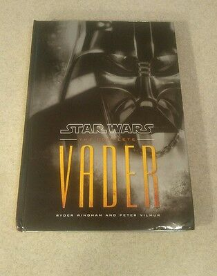 Star Wars The Complete Vader Story Hard Cover Book